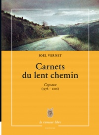 Joël Vernet - Carnets du lent chemin - Copeaux (1978-2016).