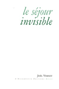 Joël Vernet - Le séjour invisible.