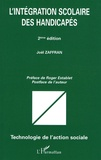 Joël Zaffran - L'intégration scolaire des handicapés.