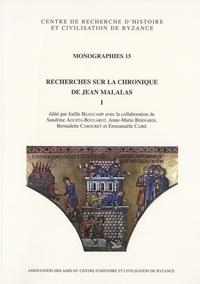 Deedr.fr Recherches sur la Chronique de Jean Malalas - Tome 1 Image