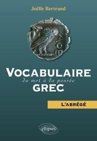Vocabulaire grec : du mot à la pensée - Labrégé.pdf