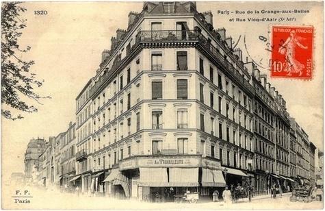 La Grange-aux-Belles. Maison des syndicats 1906-1989