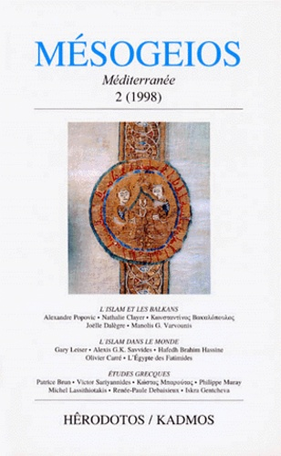 Joëlle Dalègre et  Collectif - MESOGEIOS N° 2 / 1998.