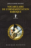 Joëlle-Elmyre Doussot - Vocabulaire de l'ornementation baroque.