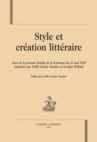 Joëlle Gardes Tamine - Style et création littéraire.