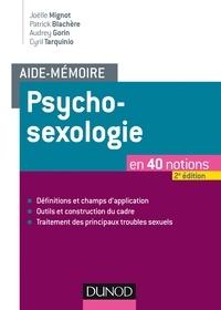 Joëlle Mignot et Cyril Tarquinio - Psychosexologie.