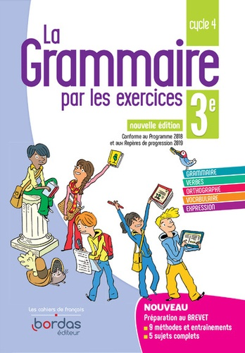 Francais 3e Cycle 4 La Grammaire Par Les Exercices Grand Format