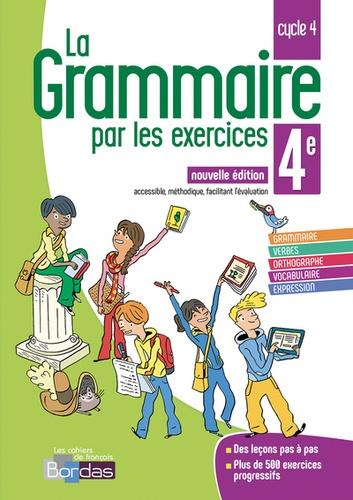 Francais 4e Cycle 4 La Grammaire Par Les Exercices Cahier D Exercices Grand Format