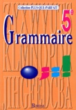 Joëlle Paul et Françoise Descoubes - Grammaire 5e - Initiation aux langues anciennes.