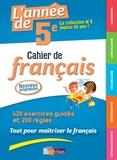 Joëlle Paul - L'année de 5e - Cahier de français.