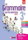Joëlle Paul - La grammaire par les exercices 3e - Cahier d'exercices.