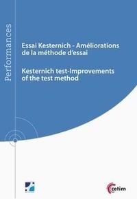 Joëlle Pechenard et Sylvie Becht - Essai Kesternich - Améliorations de la méthodes d'essai.