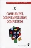 Joëlle Popineau et Sylvester Osu - Complément, complémentation, complétude.