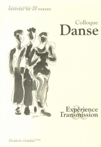 Joëlle Vellet - Expérience & Transmission - Colloque Danse.