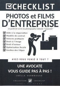 Joëlle Verbrugge - Photos et films d'entreprise - Le guide de survie du photographe/vidéaste corporate.