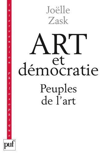 Art et démocratie. Peuples de l'art