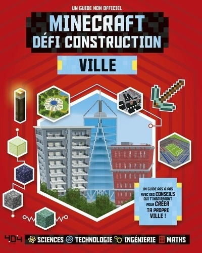 Minecraft Defi Construction Ville Un Guide Non Officiel Grand Format