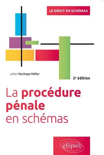 La procédure pénale en schémas 2e édition
