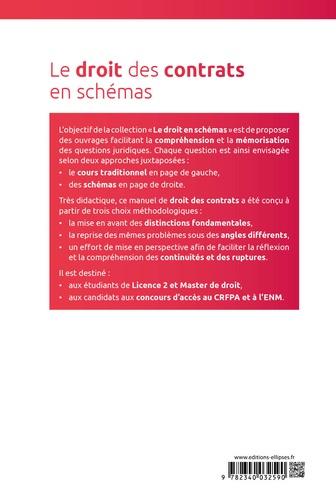 Le droit des contrats en schémas 2e édition