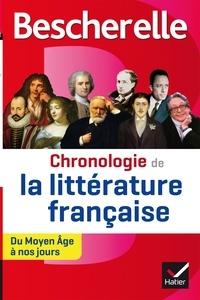 Johan Faerber - Chronologie de la littérature française.