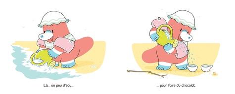 Dou à la plage