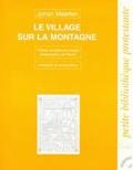 Johan Maarten - Le village sur la montagne - Tableau de l'église fidèle sous le régime nazi.