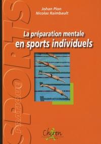 Histoiresdenlire.be La préparation mentale en sports individuels - Exercices et réflexions pour plonger dans l'entraînement mental Image