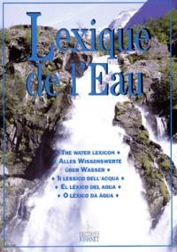 Johanet - Lexique de l'Eau - Edition multilingue français-anglais-allemand-italien-espagnol-portugais.