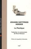Johann-Gottfried Herder - La plastique.