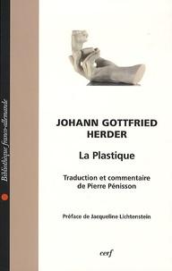 Johann Gottfried Herder - La plastique.