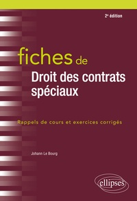 Téléchargez des livres d'espagnol en ligne Fiches de Droit des contrats spéciaux