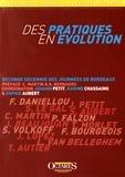 Johann Petit et Karine Chassaing - Des pratiques en évolution - Seconde décennie des Journées de Bordeaux.