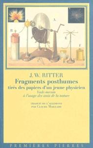 Johann-Wilhelm Ritter - .