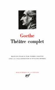Johann Wolfgang von Goethe - Théâtre complet.