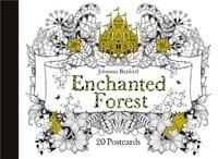 Johanna Basford - Enchanted Forest - 20 postcards.
