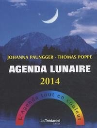 Johanna Paungger et Thomas Poppe - Agenda lunaire 2014.