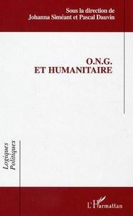 Johanna Siméant - ONG et humanitaire.