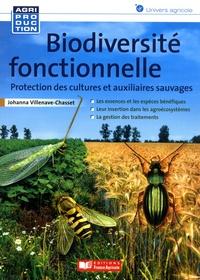 Biodiversité fonctionnelle- Protection des cultures et auxiliaires sauvages - Johanna Villenave-Chasset pdf epub
