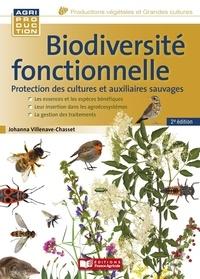 Johanna Villenave-Chasset - Biodiversité fonctionnelle - Protection des cultures et auxiliaires sauvages.