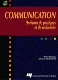 Johanne Saint-Charles et Pierre Mongeau - Communication - Horizons de pratiques et de recherche.
