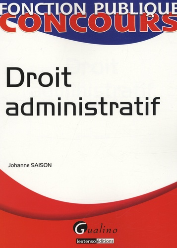 Johanne Saison - Droit administratif.