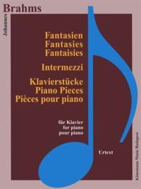 Brahms - Fantaisies, Inermezzi et pieces - pour piano - Partition.pdf