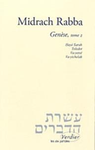 Johannes Honigmann et René Lévy - Midrach Rabba - Genèse, tome 2.