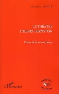 Deedr.fr Le théâtre d'Henry Bernstein Image