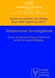 Johanssonian Investigations - Essays in Honour of Ingvar Johansson on His Seventieth Birthday.