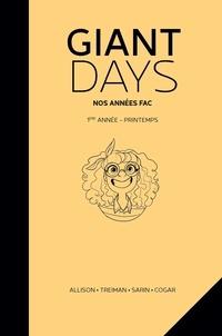 John Allison et Max Sarin - Giant Days  : Nos années fac - Printemps.