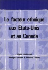 John Atherton - Le facteur ethnique aux Etats-Unis et au Canada.