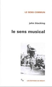 John Blacking - Le sens musical.