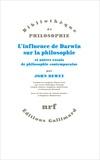 John Dewey - L'influence de Darwin sur la philosophie et autres essais de philosophie contemporaine.