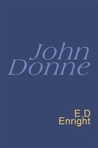 John Donne et E.D. Enright - Donne: Everyman's Poetry - Everyman's Poetry.
